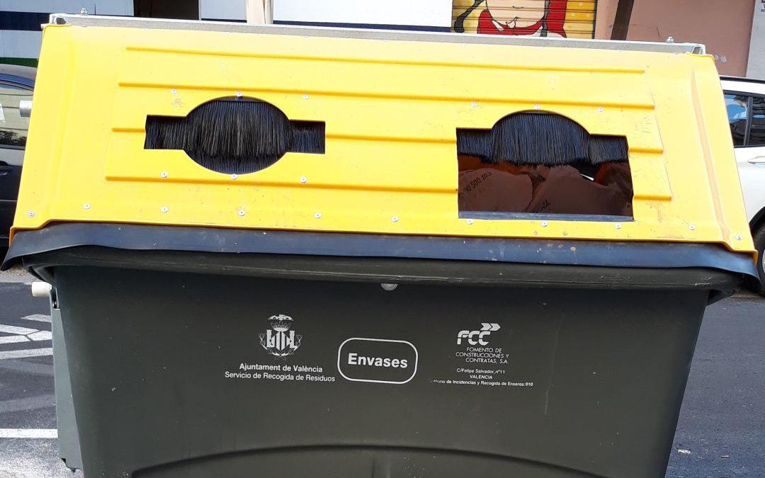 Un barrio de la ciudad de Valencia compensará a sus vecinos por separar residuos