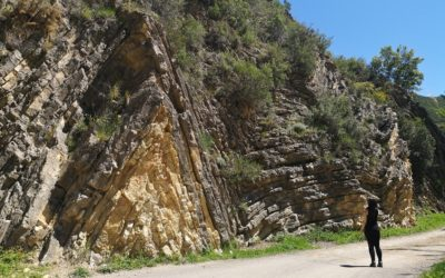 El Anticlinal, el curioso pliegue rocoso de Sot de Chera