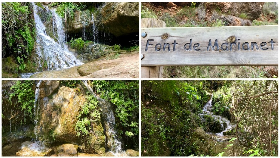 La Font de Marianet de Serra, una bonita fuente junto a una ruta para iniciarse en el senderismo
