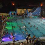 Aperturas nocturnas con fiestas temáticas en la piscina del Parque del Oeste en 2019