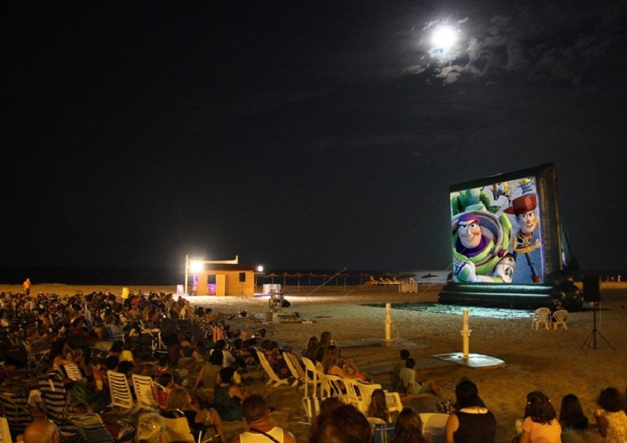 Cine de verano GRATUITO en las playas de Valencia en 2019