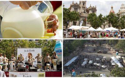 El Día de la Horchata y la Chufa de Valencia 2019 llega a la plaza del Ayuntamiento de Valencia