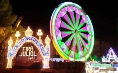 Regresa la Feria de Atracciones de Valencia al Jardín del Turia