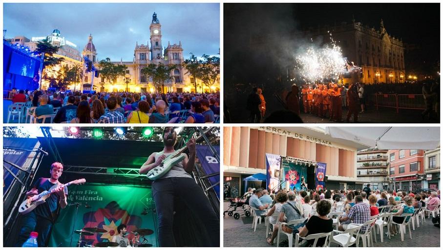 Gran Fira de Valencia 2019, programación completa de la Gran Feria de Julio 2019 en Valencia