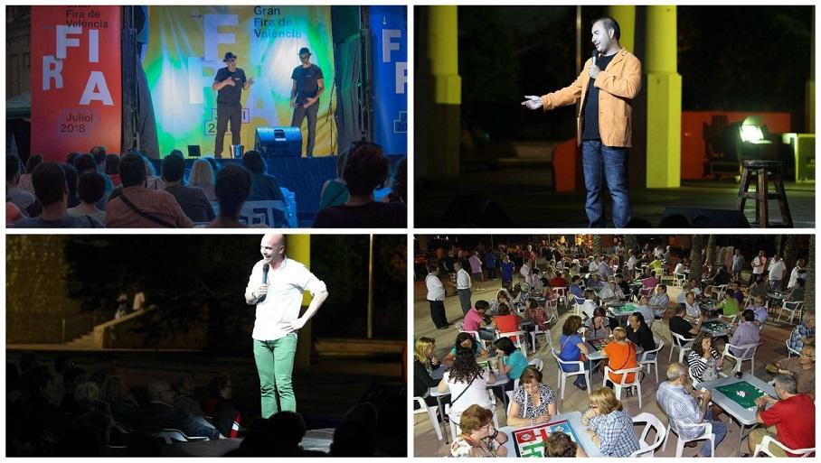 Valencia se llena de monólogos gratuitos y al aire libre durante el mes de julio