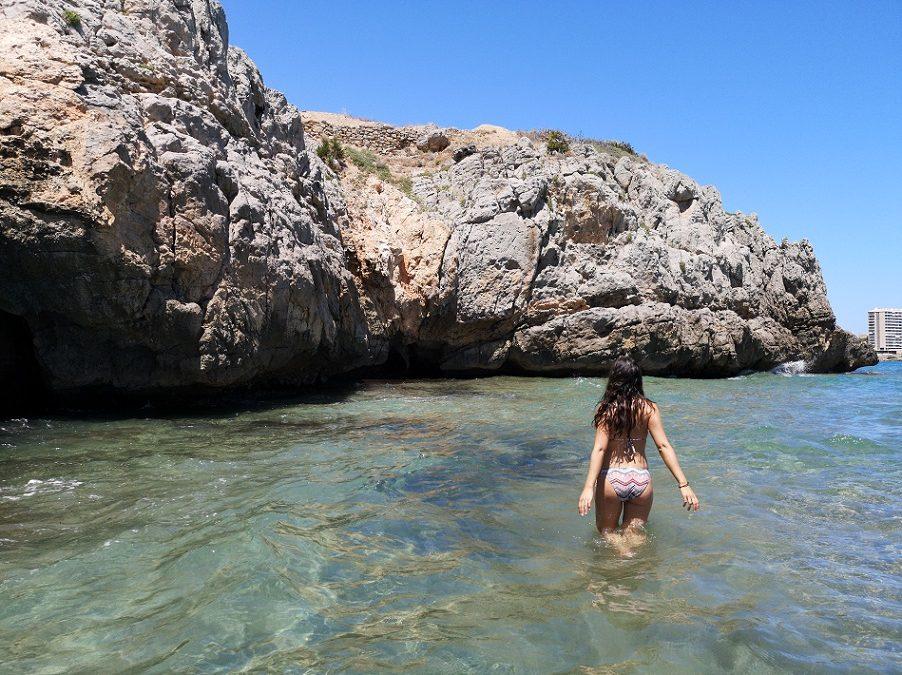 Cala Orpesa la Vella y Cala del Retor, dos bellas calas a los pies de los restos de un poblado íbero