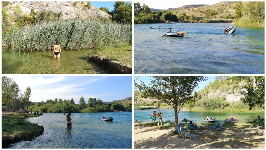 L'illa de l'Esgoletja, la encantadora área recreativa con zona de baño de Sumacàrcer
