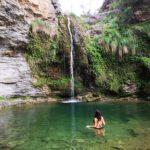 El Salto de la Novia de Cirat, una poza y cascada enclavada en un anfiteatro natural