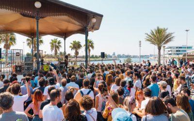 Regresan los conciertos GRATUITOS a la Pérgola de La Marina de Valencia
