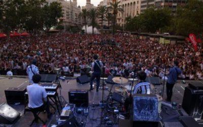La plaza del Ayuntamiento de Valencia acoge dos conciertos GRATUITOS con diversos artistas