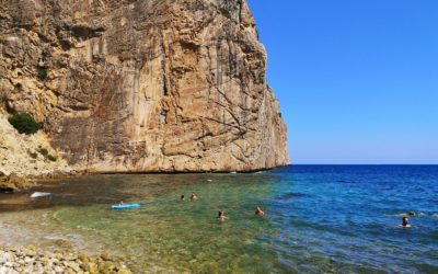 Cala El Collao o del Racó del Corb, una de las calas más bonitas y escondidas de Alicante