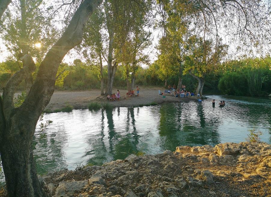 La Fenosa, el paraje natural de Benaguasil que hay junto a la zona de baño de La Pea de Vilamarxant