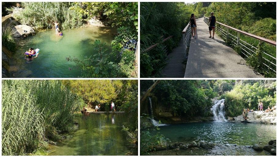 La bonita ruta del agua del Río Buñol, el Parque Fluvial y el paraje de la Jarra