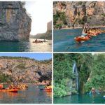 El embalse de Cortes de Pallás, uno de los rincones más bonitos para montar en kayak o paddle surf