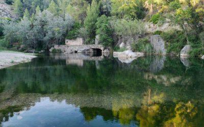 La piscina natural El Pozo, la zona de baños de Arañuel