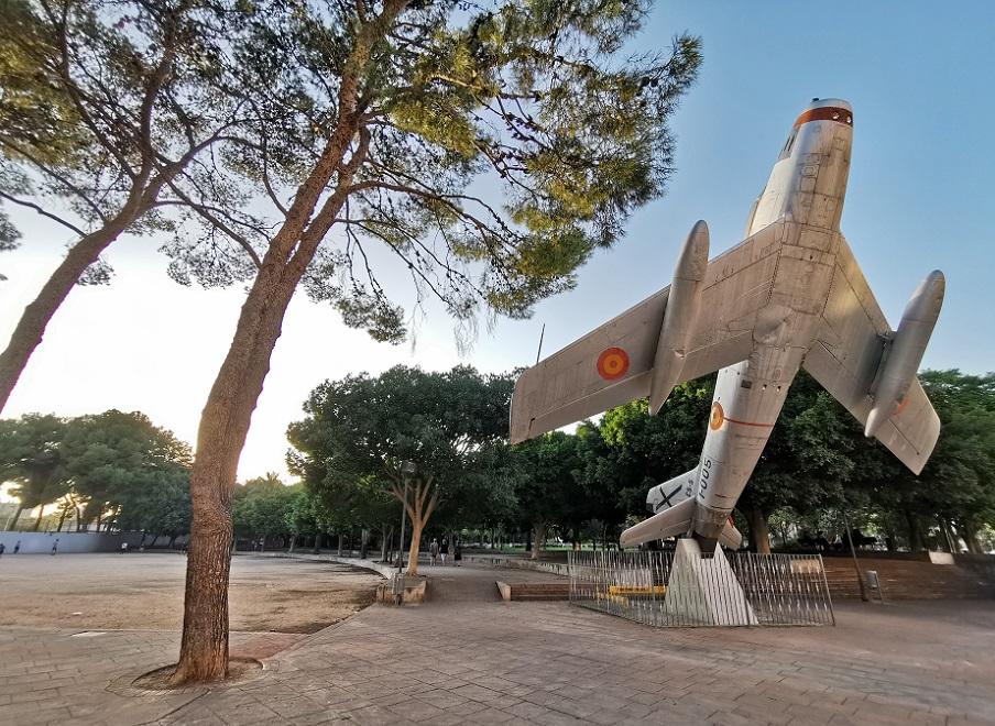 El Parque del Oeste o del Avión, uno de los parques urbanos más emblemáticos de Valencia