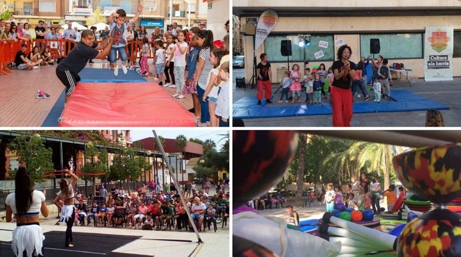 Cultura als Barris 2019, más de un centenar de espectáculos y actividades GRATUITAS en Valencia