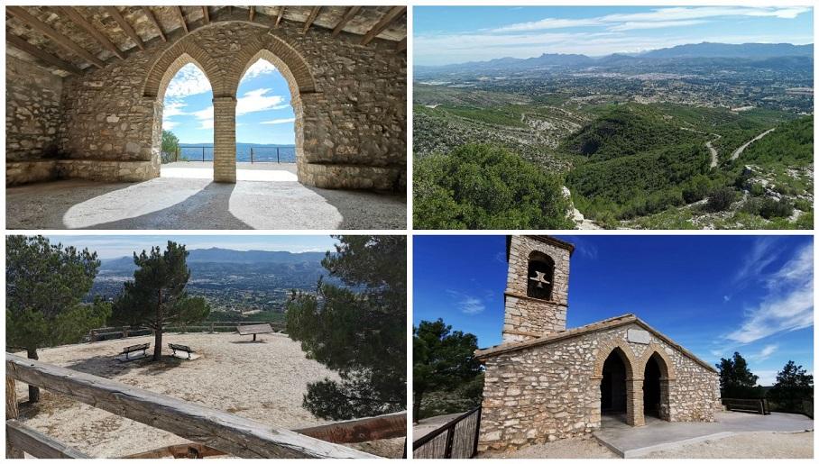 La ermita de Sant Esteve, el rincón con las mejores vistas de toda la Vall d'Albaida