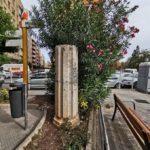 La olvidada columna del antiguo mercado de flores subterráneo de la tortada de Goerlich