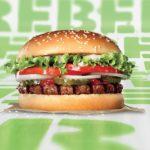 Burger King elige Valencia para una cata a ciegas gratuita de la hamburguesa vegetariana Rebel Whopper