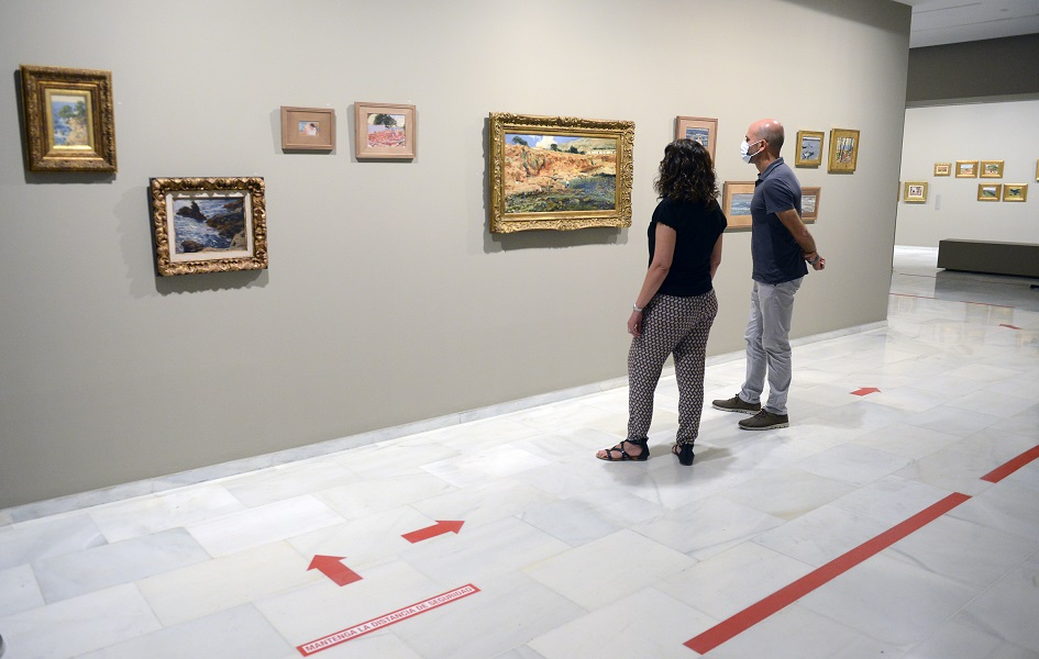La gran exposición del pintor valenciano Sorolla, con más de 250 obras, estará hasta octubre