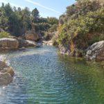 Las escondidas pozas que hay en la parte alta de la Cueva del Turche de Buñol
