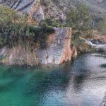La escondida poza del Acueducto de La Canal, un precioso rincón de Sot de Chera