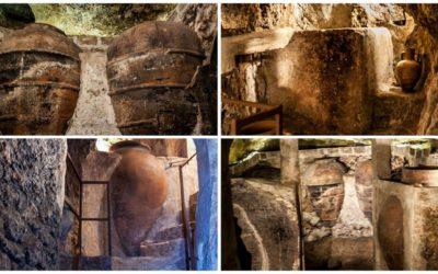 Utiel cuenta con un nuevo espacio subterráneo, la Cueva-Bodega de Rosario y Nicolás