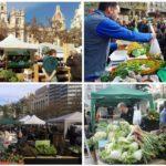 """Vuelve el mercado de proximidad """"De l'Horta a la Plaça"""" a la plaza del Ayuntamiento de Valencia"""