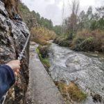 La preciosa Fuente del Baño de Navajas y el paso de las cadenas, rincón de obligada visita