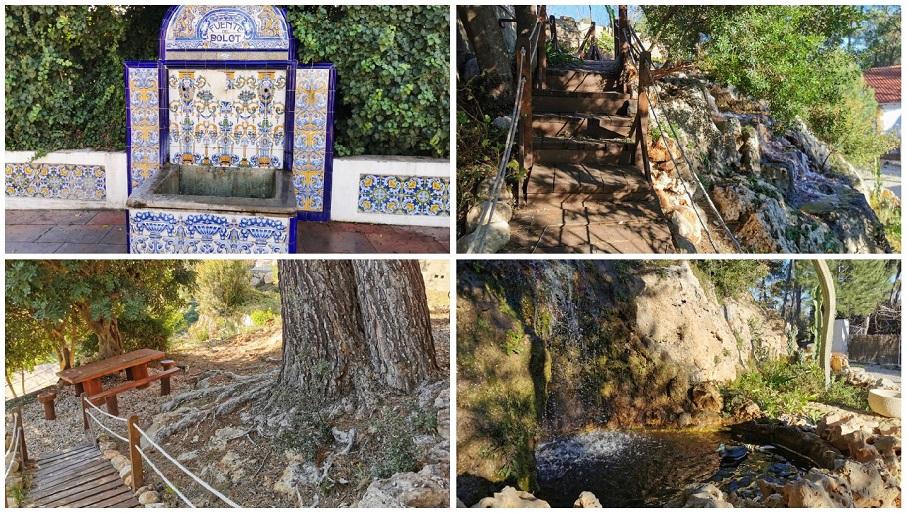 El pequeño paraje de la Fuente del Bolot, un bello rincón de Macastre