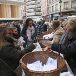 El mercado tradicional valenciano de San Blas vuelve al barrio de Ruzafa