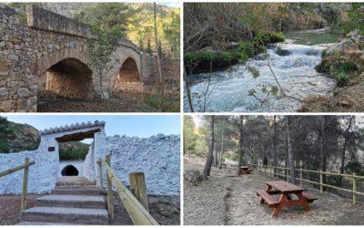 El Área Recreativa de Puente de Barraquena, un precioso rincón de Chelva recuperado junto al Turia