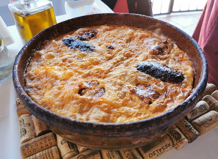 Arroz con costra, una receta tradicional alicantina