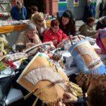 La Falla el Quarantahuit celebra su Semana Cultural con la Concentración de Bolilleras