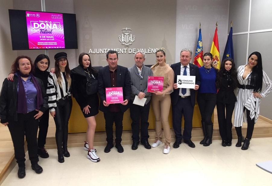 Valencia celebrará el Día de la Mujer con el festival gratuito más grande del país con mujeres artistas