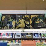 El mural de Luis Arcas Brauner en la librería París Valencia, una joya que puede pasar desapercibida