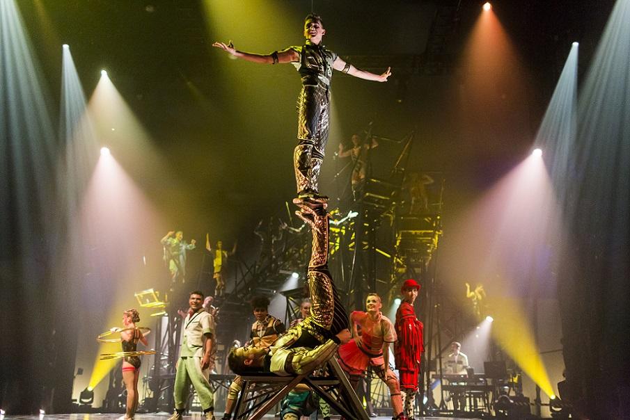El Circo del Sol estrena, de forma gratuita, otro especial en su web con nuevos espectáculos