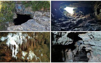 La Cueva del Candil, la bonita cueva de Tous para explorar, con ligera precaución, con niños
