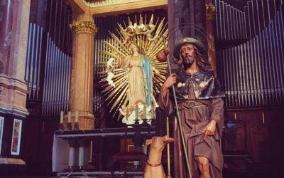 San Roque, protector de epidemias, uno de los santos sanadores con mayor tradición y devoción en la diócesis de Valencia