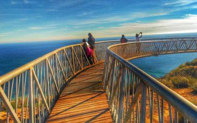 El mirador del Faro de Santa Pola, uno de los rincones más bonitos de la Comunitat Valenciana