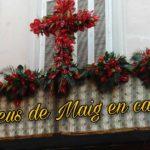 Las Cruces de Mayo se pasan a los balcones para mantener la bella tradición valenciana