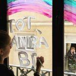 Ilustradores, diseñadores, arquitectos y artistas valencianos invitan a asomarse a las ventanas con arte