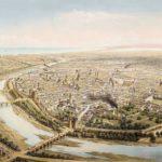 La muralla cristiana de Valencia también se construyó para evitar las inundaciones del Turia en la ciudad