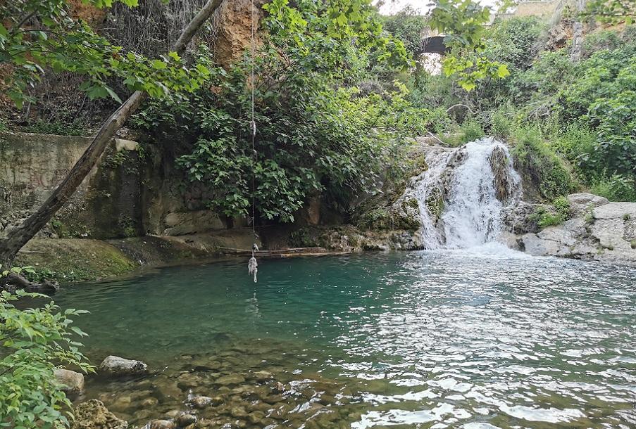 El Paraíso, una mágica poza oculta en el curso del río Buñol