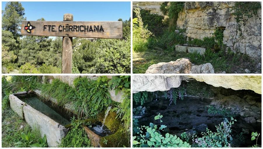 La preciosa Fuente de la Chirrichana