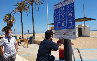 La ciudad de Valencia arranca la temporada de playas 2020 con un plan especial frente a la pandemia