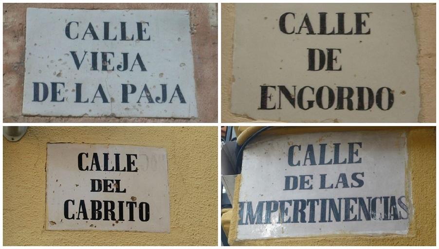 Las calles de Valencia con los nombres más curiosos