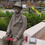 Realizan una escultura en Benimàmet en recuerdo a los fallecidos por el Coronavirus