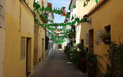 El precioso barrio de La Villa, la villa medieval de Requena